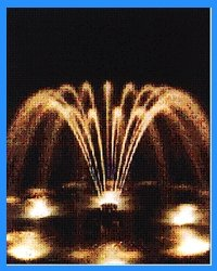 Multi Jet Flower Fountains