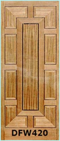 Veneer Multi Panel Skin Doors