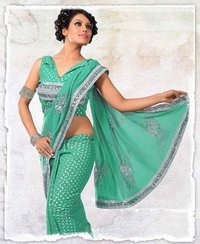 Ladies Party Wear Sarees