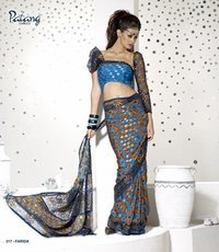 Printed Design Sarees