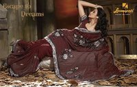 Designer Printed Georgette Sarees