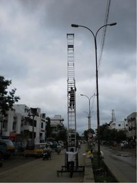 Aluminium Alloys Telescopic Tower Ladder