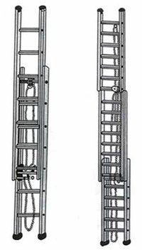 Aluminium Wall Extension Ladder (Ad002)