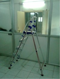 Aluminium Step Platform Ladder