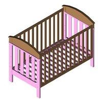 3398 Baby Crib