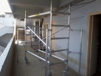 Aluminium Scaffolding Tower With Stabilizers