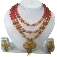 Red Crystal Gold Set