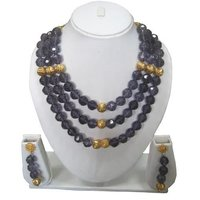 Crystal Beaded Necklace Sets