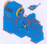 Production Model Tangential Type Threading Machine