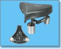 PVC Spring Base Bicycle Saddles