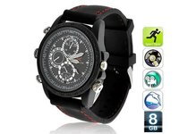 Voyeur - Sports Spy Camera Watch With 8GB Memory