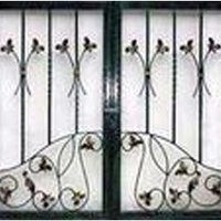 Iron Rod Window Grill
