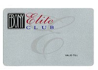 PVC Silver Cards