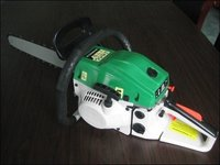 Gasoline Chain Saw(Green Plus White
