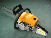 Gasoline Chain Saw (Yellow Plus White)