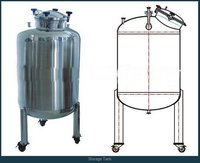 Sanitary Storage Tank