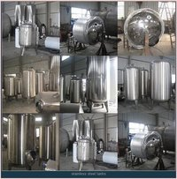 Sanitary Storage Design Tank 