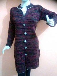 Sherwani Style Woolen Kurti