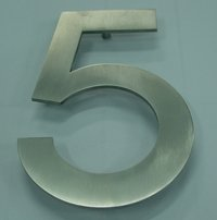 Stainless Steel Alphabet