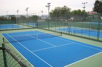 Acrylic Sport Surface Materials
