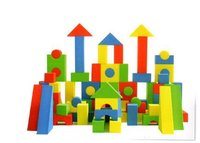 Soft Foam Building Blocks 30/72 Big Pcs