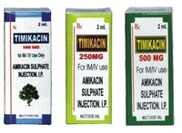Amikacin Sulphate Injection I P