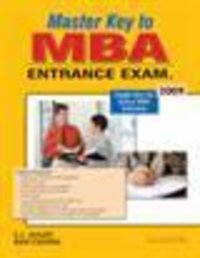 Master Key To MBA Books