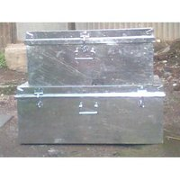 Galvanized Trunk Boxes