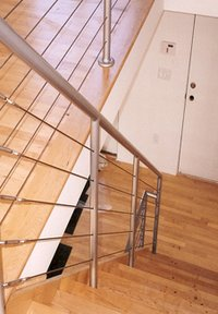 Sleek Steel Railings