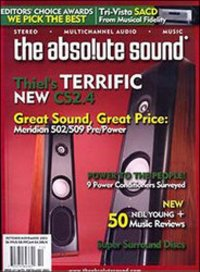Absolute Sound Magazines