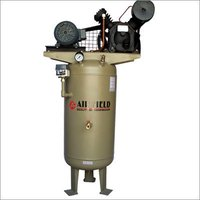 Vertical Tank Mounted Air Compressor
