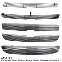 Clamp On Aluminum Billet Grille