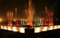 Decorative Multicolor Light Fountain