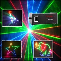 2w Rgb Full Color Animation Stage Laser Light Show