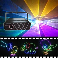 1wrgb Full Color Animation Disco Laser Light Equipment