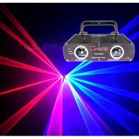 500mw Double Head Red+Blue Pub Laser Light