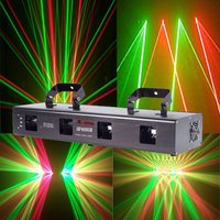 Disco Four Head Stage Laser Light Projector