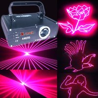200mw Pink Christmas Holiday Party Laser Light