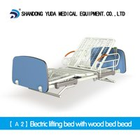 A2 Electric Lifting Bed With Wood Bed Head