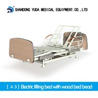A3 Electric Lifting Bed With Wood Bed Head