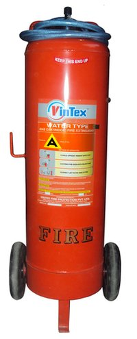 Water Co2 Type Mobile Fire Extinguisher