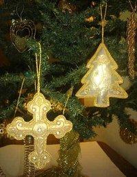 Hand Embroidered Zari Ornaments