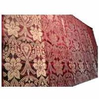 Indian Silk Brocade Fabric