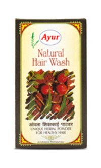Natural Hair Wash With Amla And Shikakai