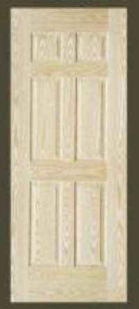 Eight Panel Teak Veneer Doors