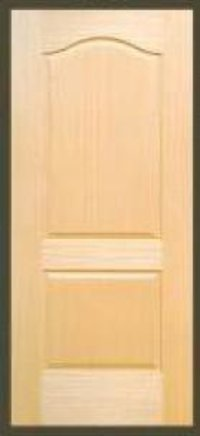 Two Panel Teak Veneer Doors