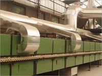 Horizontal Dryer For Roller Kiln