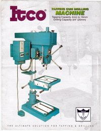 ITCO Drilling Cum Tapping Machine