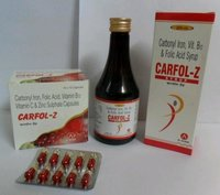 Multi Vitamin & Iron Syrup & Capsule