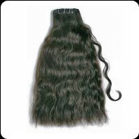 Remy Single Drawn Hand Weft Curly Hairs